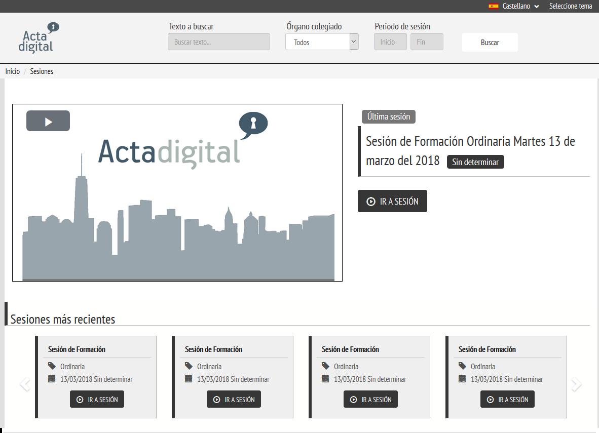 Acta Digital - Ayuntamiento de Getafe